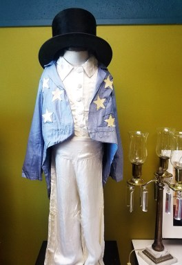 Original costume worn by a child who tap danced between shows at the Princess Theatre in the 1920s. (The Princess Theatre)