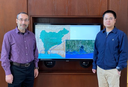 Auburn University Professors Latif Kalin and Di Tian are working on a $2.8 million NOAA RESTORE study to build the climate and environmental resiliency of Gulf species. (Auburn University)