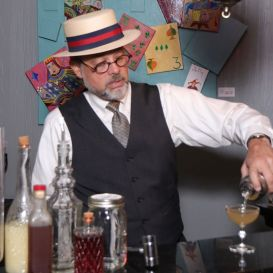 Todd Duren's popular Prohibition Cocktails tour combines stories of the city's speakeasies with actual handcrafted cocktails. (Secret History Tours)