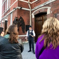 Todd Duren leads one of his Secret History Tours. Mobile has plenty of stories to tell, and even longtime locals learn things they never knew. (Secret History Tours)