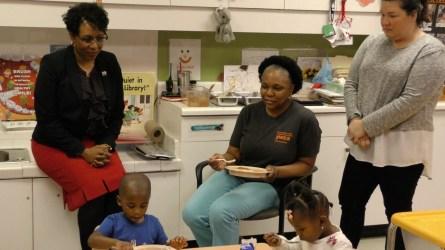 YWCA Central Alabama CEO LaRhonda Magras gives back through the organization's programs to empower women and improve the lives of children. (Karim Shamsi-Basha/Alabama NewsCenter)