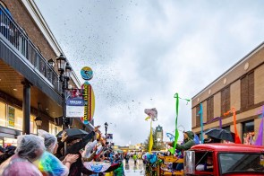 This free, family-friendly event will be a daylong celebration throughout OWA with live music, a float parade with Krewe du Cirque, second line and much more from the amusement park to OWA's Island Amphitheater. (Contributed)