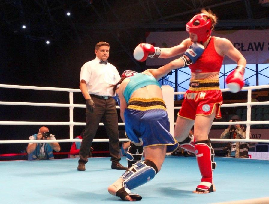 Kickboxing was part of the last World Games in Poland in 2017. (The World Games)