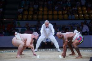 Sumo was part of the last World Games in Poland in 2017. (The World Games)