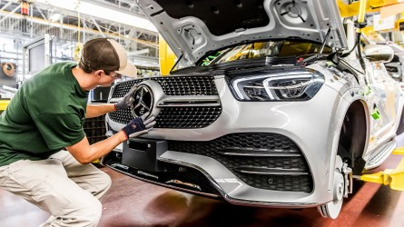 Mercedes-Benz U.S. International in Tuscaloosa is halting production in response to COVID-19. (MBUSI)