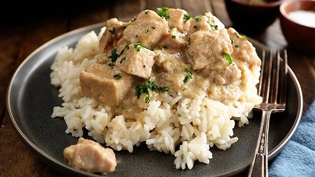 Recipe: Slow Cooker Pork Tips