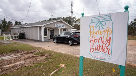 Reney's Honey Butter is created and sold at The Cottage, a breakfast gourmet food boutique and kitchen in West Mobile. (Dennis Washington / Alabama NewsCenter)
