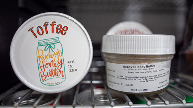 Reney's Honey Butter is an Alabama Maker churning delicious flavor