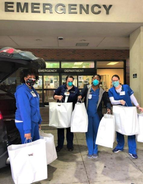 CareHealth coordinates food from restaurants and packs meals for health care workers. (contributed)