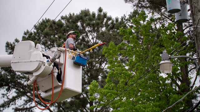 Progress continues in restoring service following devastating storms in Alabama