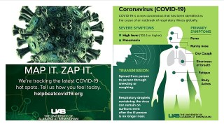 University of Alabama at Birmingham launches HelpBeatCOVID19.org to track disease in real time