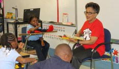 Reading Across America is one of several events Chaney volunteers to assist. (contributed)
