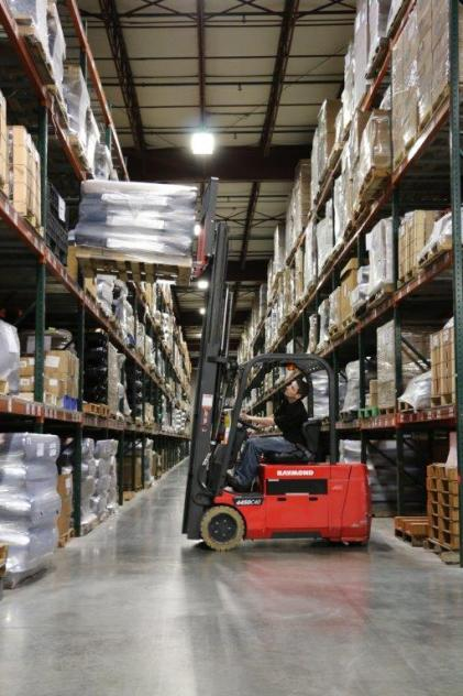From the warehouses to the final destination, those in the trucking industry are keeping goods moving. (contributed)