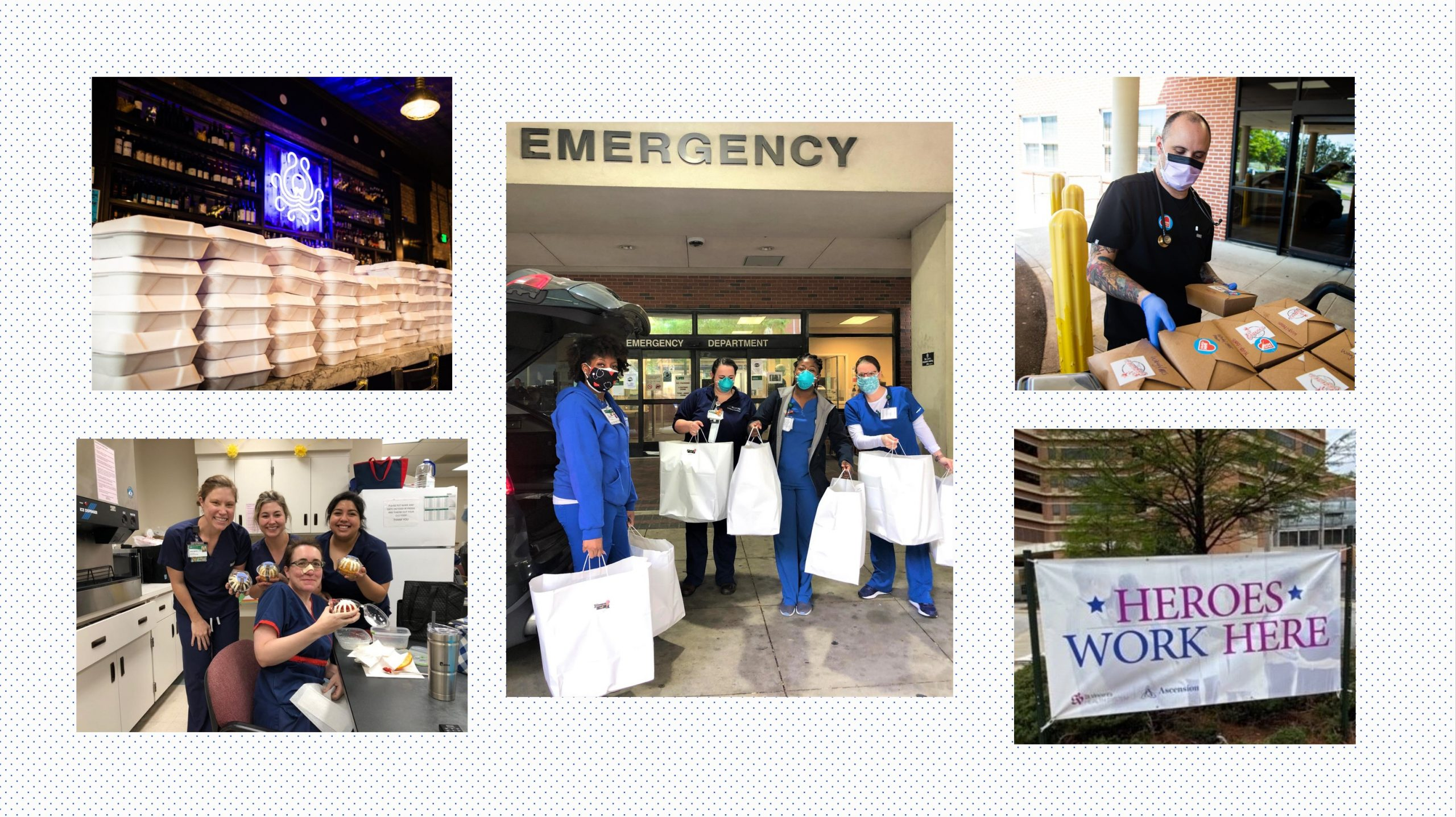 Birmingham citizens, organizations give back to restaurants, health care community during COVID-19 crisis