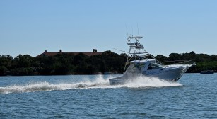 Troopers with the Alabama Law Enforcement Agency's Marine Patrol remind boaters to give other boaters plenty of room. Don't operate too closely to private docks or the shoreline, and give skiers and swimmers a wide berth. (Getty Images)