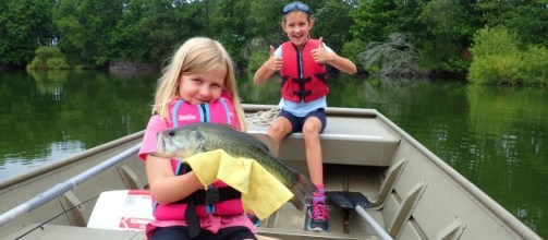 These days, boating should be done only with members of your household. As always, life jackets should be worn. (National Safe Boating Council}