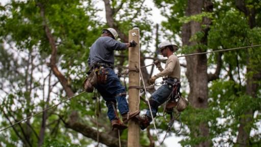 Storm restoration, April 2020. (Dennis Washington / Alabama NewsCenter)