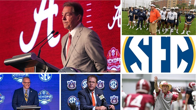 Alabama Crimson Tide, Auburn Tigers can resume football training June 8