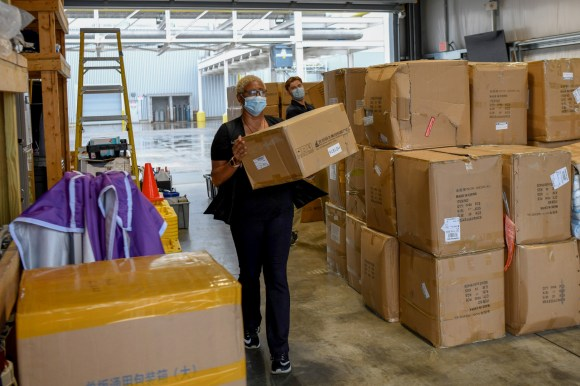 Mercedes-Benz U.S. International, Inc. has donated funds, goods and services valued at $500,000 for COVID-19 relief. (MBUSI)