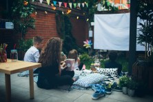A movie night in the backyard can be a fun way to enjoy warmer weather. (Getty Images)