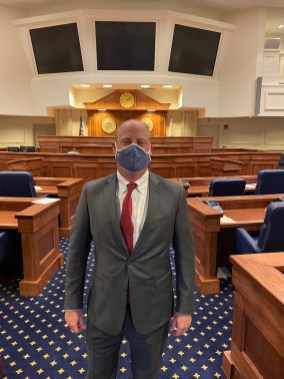 Alabama Lt. Gov. Will Ainsworth is working with HomTex to help the company receive U.S. Food and Drug Administration approval for its masks. (HomTex)