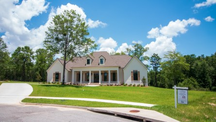 The Alabama Power Smart Neighborhood home is located in the Cherry Hill subdivision in Saraland. (Dennis Washington / Alabama NewsCenter)