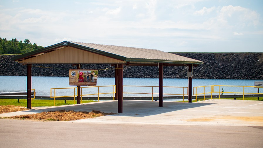 Community leaders say the pavilion will also help attract more fishing tournaments, especially among high schools and amateurs. (Dennis Washington / Alabama NewsCenter)