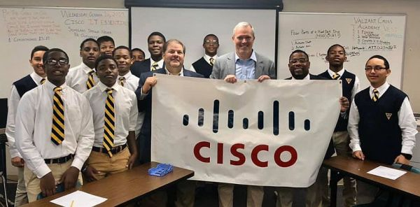 The school's Cisco Networking Academy teaches boys about computers, coding and cyber security. (contributed)