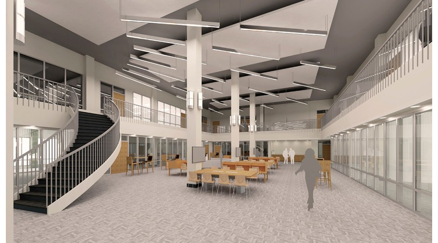 Bishop State is also building a new $4 million health sciences facility in the old library. It will provide state-of-the-art simulation teaching labs for the college's nursing and physical therapy programs. (contributed)