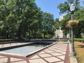 Linn Park's prominent location and recent history make it due for a refresh, Birmingham officials say. (Michael Sznajderman / Alabama NewsCenter)