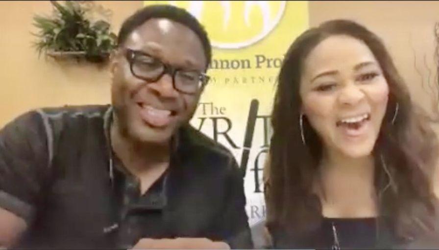 Garrett and Kerri Pruitt share a laugh. (Dannon Project)