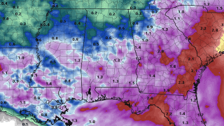 James Spann: Scattered to numerous showers, storms for Alabama Tuesday and Wednesday