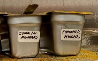 Spices are in heavy use at Bay Leaf. (Susan Swagler / Alabama NewsCenter)