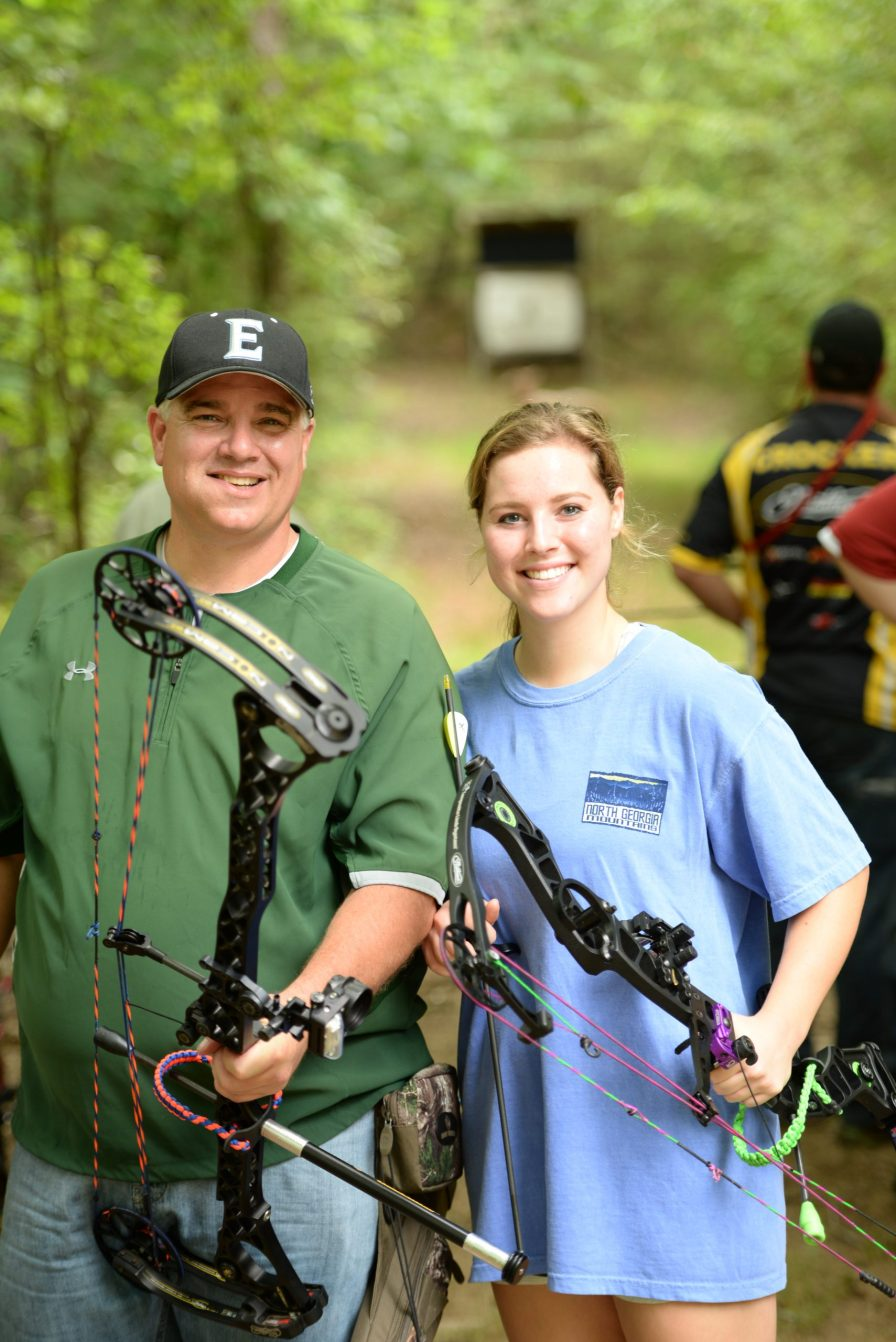 The annual BCRFA archery competition allows families to support loved ones who have survived breast cancer. (BCRFA)