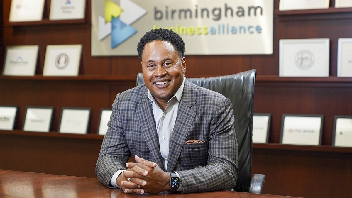 Birmingham Business Alliance's Kenneth Coleman plans to grow businesses in Birmingham region