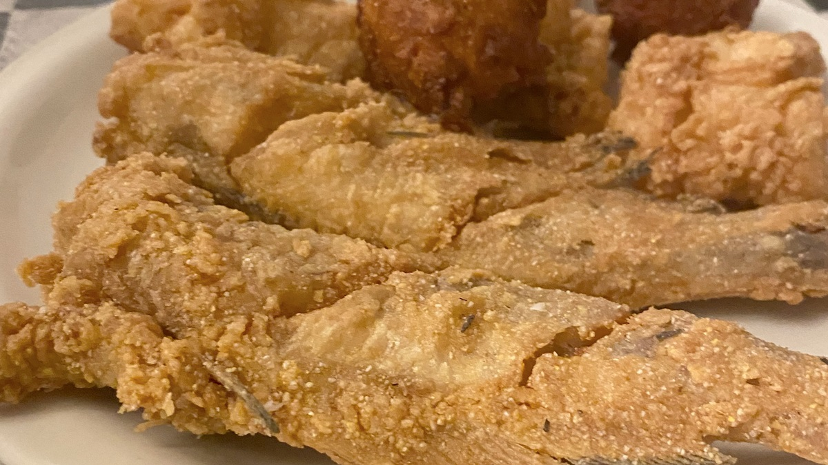 Fried Catfish at Stagecoach Café one of 100 Dishes to Eat in Alabama