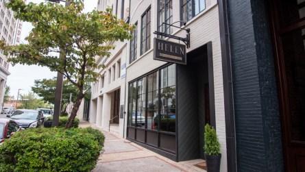 The restaurant is in a two-story 1920s-era shotgun-style building in downtown Birmingham. (Dennis Washington / Alabama NewsCenter)