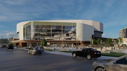 The $128 million renovation of the BJCC Legacy Arena will be complete by 2022. (contributed)