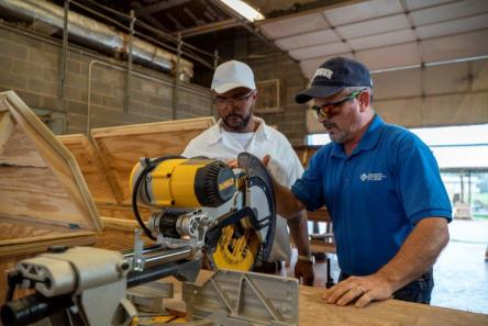 A $17.8 million federal grant through the Reimagine Workforce Preparation (RWP) program offers a hopeful future to displaced workers in the state's hardest-hit industries. (contributed)