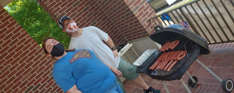 Family Success Center held a neighborhood cookout. (contributed)