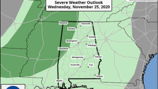 James Spann: Cool, dry day for Alabama; rain, storms arrive Wednesday