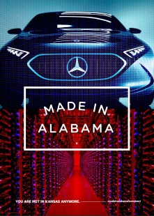 """A series of ads are part of the Alabama Department of Commerce Made in Alabama """"Next"""" campaign.  (contributed)"""