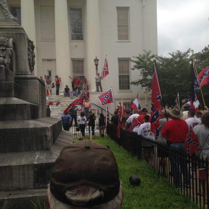 AL Capitol Confederate Flag Protest Rally_1