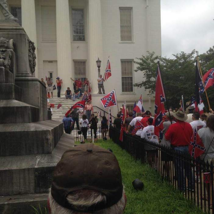 AL Capitol Confederate Flag Protest Rally_1
