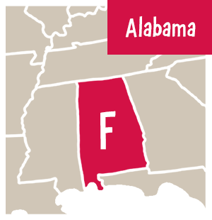 FMLA Report Card_Alabama F