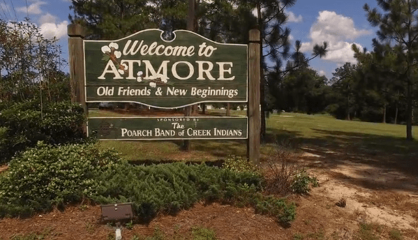 atmore sign