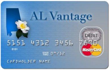 Alabama unemployment debit card