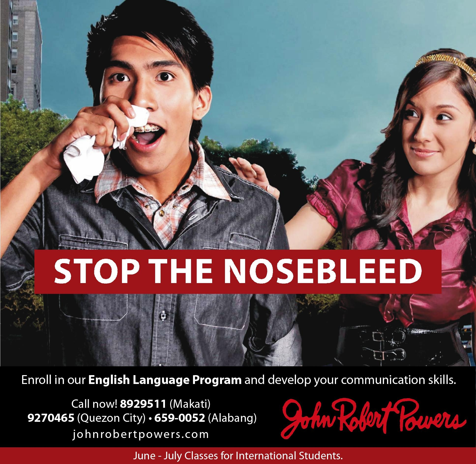 Win Free Workshops From John Robert Powers Here Find Out How Now Alabang Bulletin