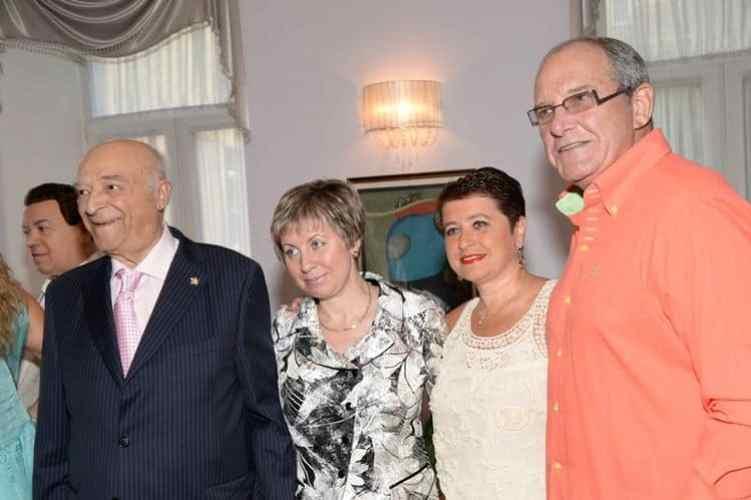 Семья Владимира Этуша фото