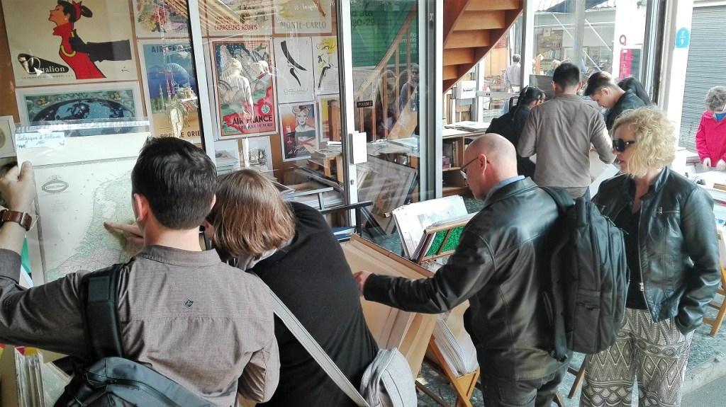 Pchli targ w Paryżu - plakaty i grafiki